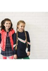 B. Nosy Girls dress with knitted knit at front and sleeve