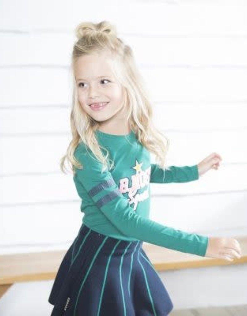 B. Nosy Girls skirt with green stripes