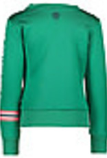 B. Nosy Girls sweater with rib on sleeve and body