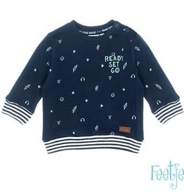 Feetje Sweater AOP / Ready Set Go - Tuning Vibes