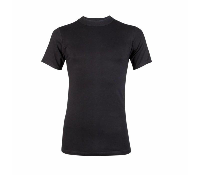 heren comfort feeling T-shirt zwart