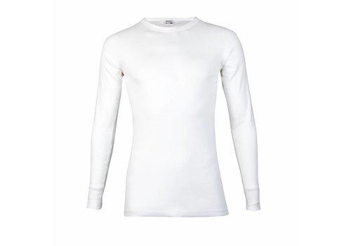 Beeren Heren T-Shirt Lange Mouw M3000 Wit