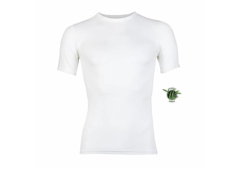 Heren Bamboo T-Shirt Wit