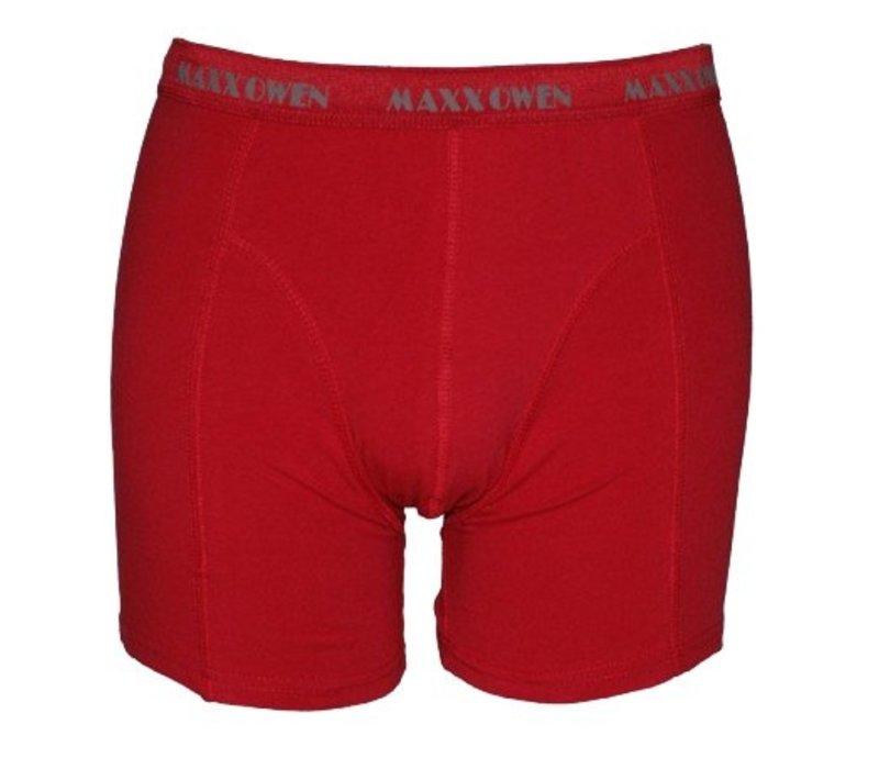 heren boxershort rood