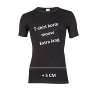 Beeren Heren T-Shirt Extra Lang M3000 Zwart voordeelpack
