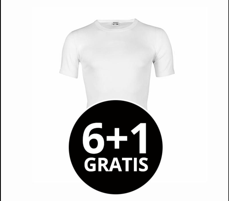 Beeren Heren T-Shirt Extra Lang M3000 Wit voordeelpack