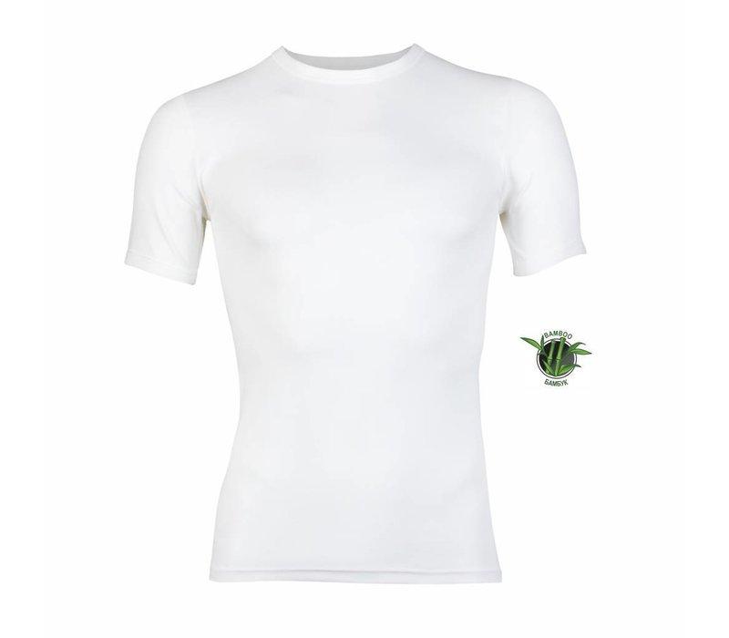 Heren Bamboo T-Shirt Wit Voordeelpack