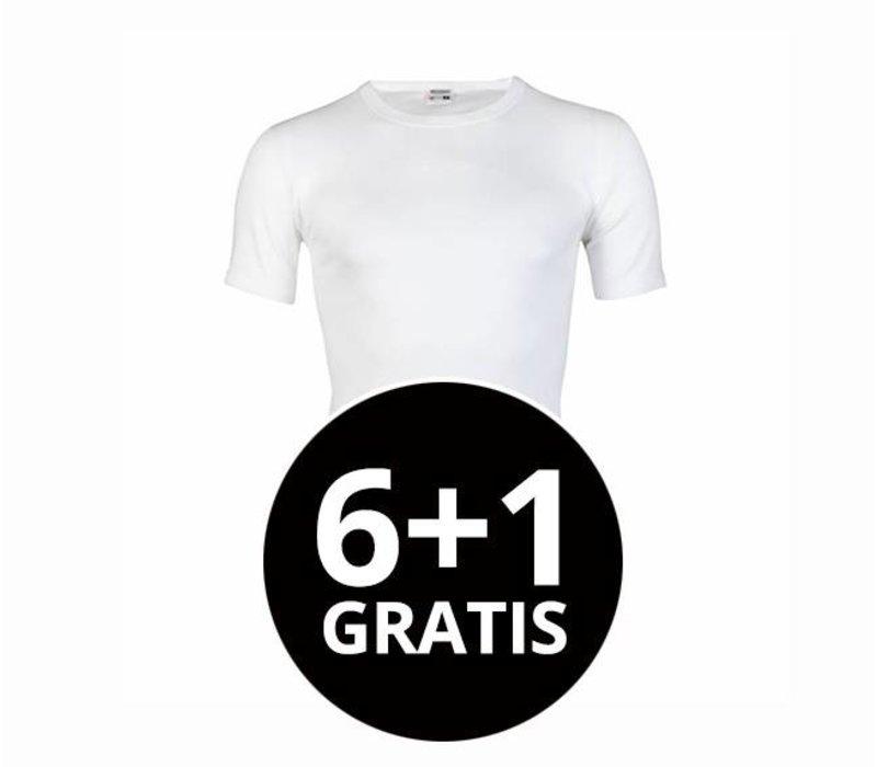 Beeren Heren T-Shirt M3000 Wit voordeelpack