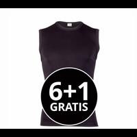 Beeren Heren Extra Lang Mouwloos Shirt Zwart voordeelpack