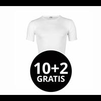Beeren Heren T-Shirt M3000 Wit Mega voordeelpack