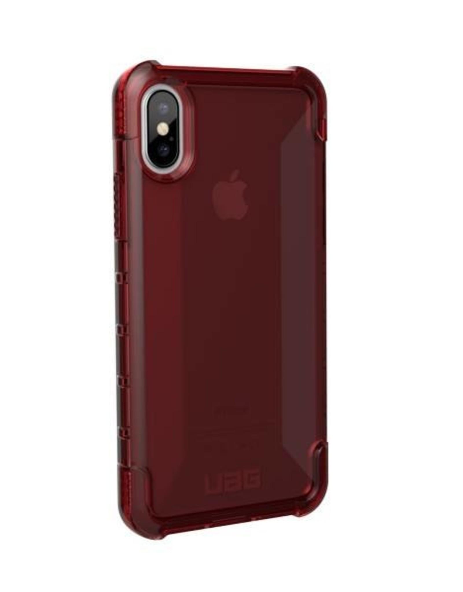 UAG UAG Hard Case iPhone X Plyo Crimson Red