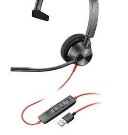 Plantronics Plantronics Blackwire 3310 - Mono - USB-A