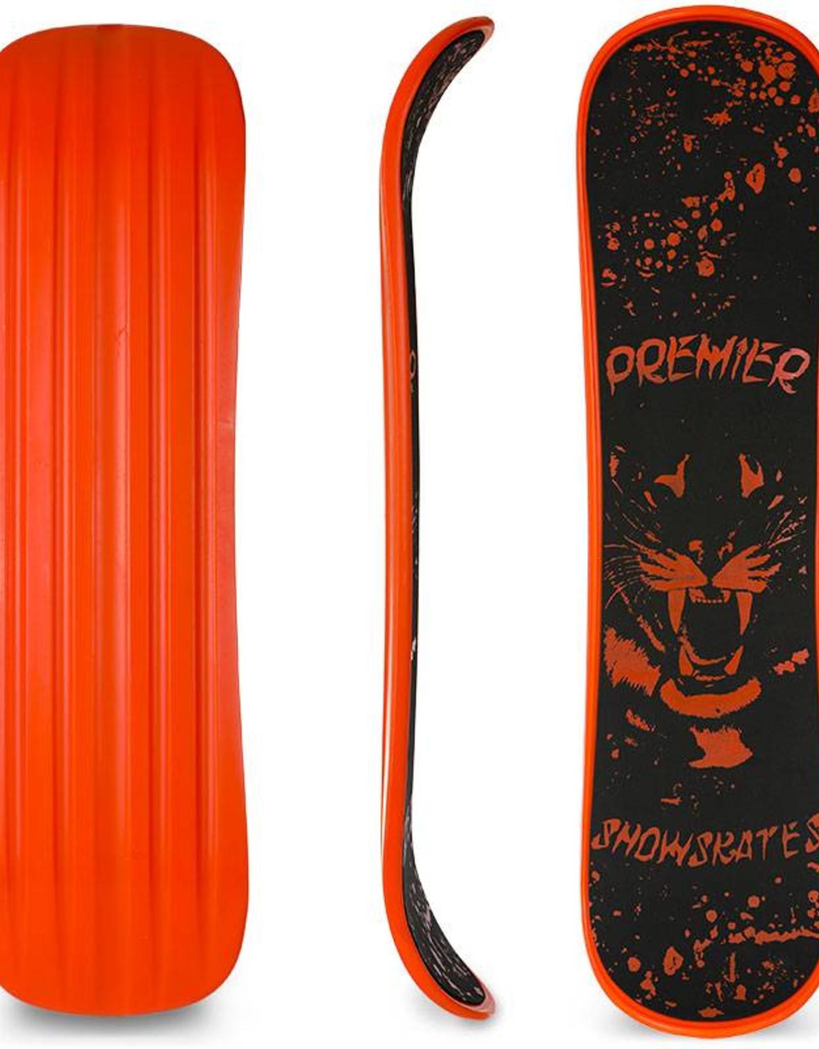 "Premier Snowskates Premier Tigerstyle 35"" Single Deck Snowskate for Advanced Riders"