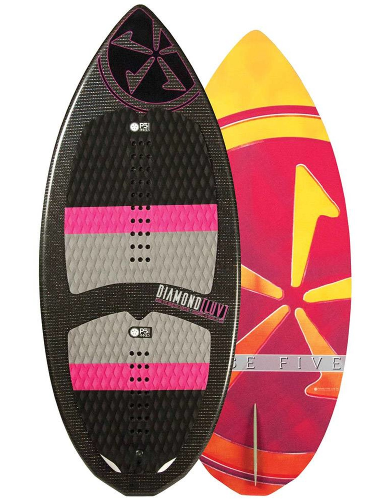 "Phase Five Phase Five Luv 48"" Women's Skim-Style Wakesurf"