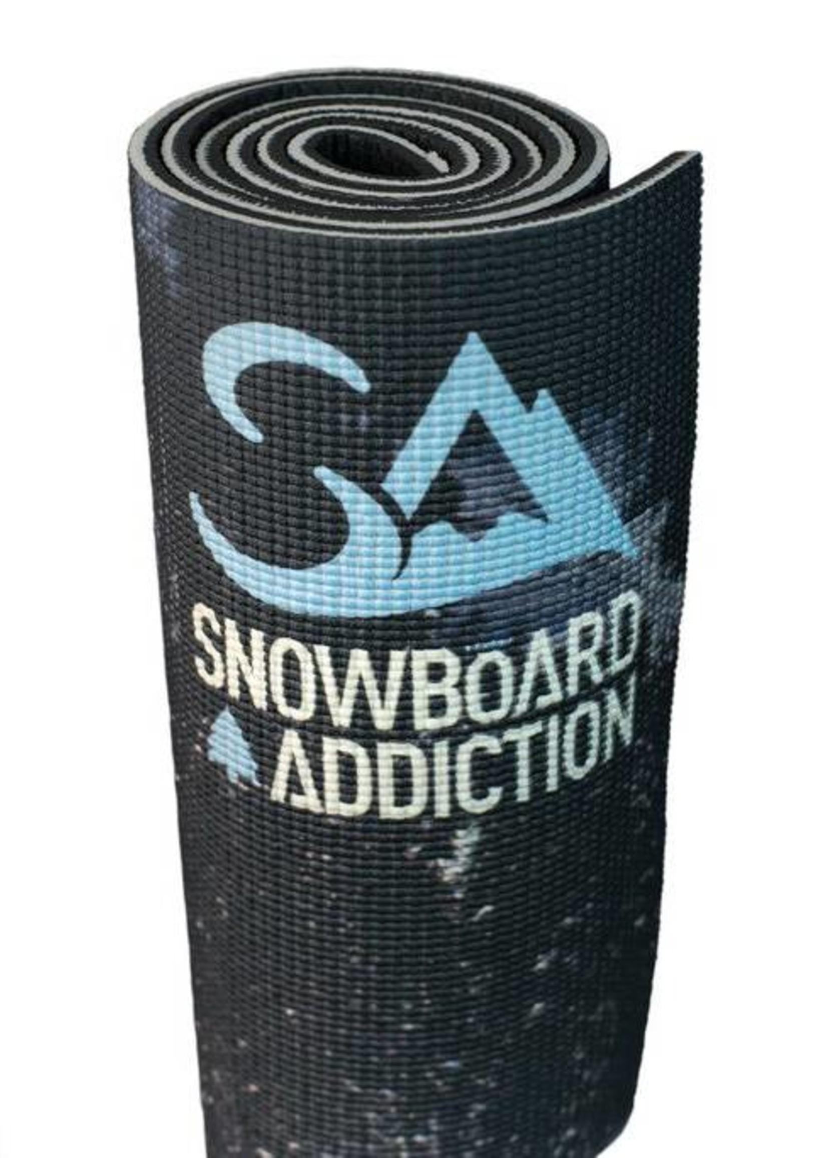 Snowboard Addiction Snowboard Addiction Training Mat Teppich für das Trockentraining