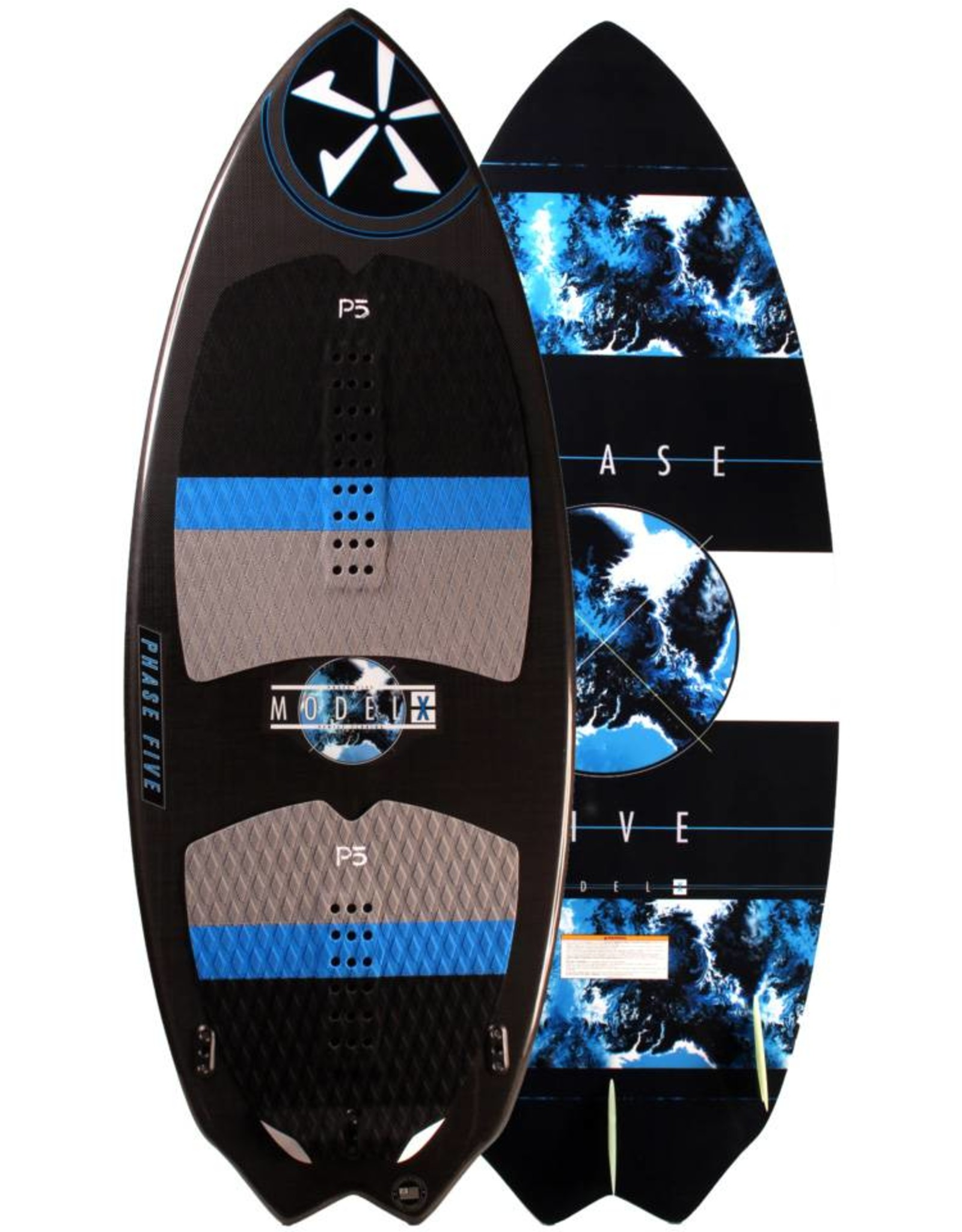 "Phase Five Phase Five Model X 53"" Skim-Style Wakesurf"