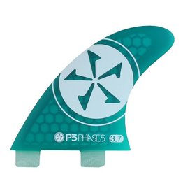 Phase Five 3.7 Surf Twin Fin Green