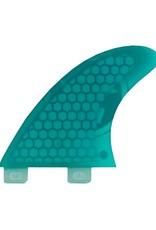 Phase Five Phase Five 3.7 FCS Twin Finnen in grün für Surf-Style Bretter
