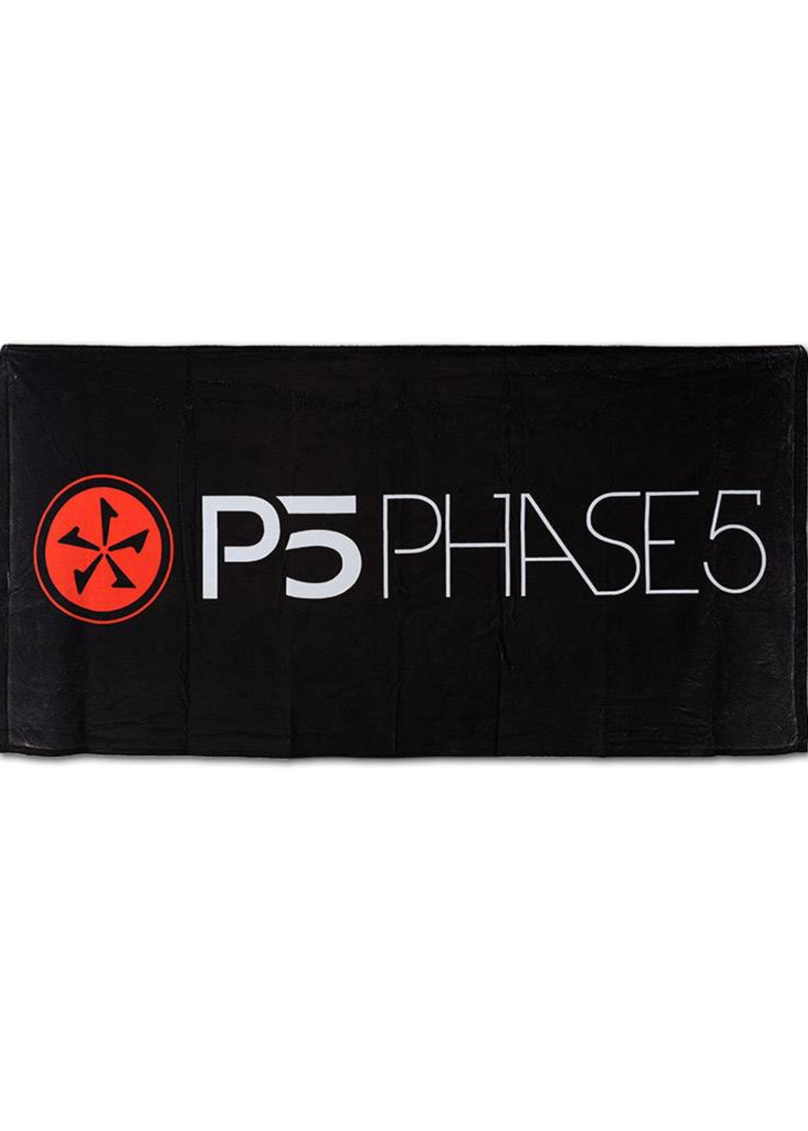 Phase Five Phase Five Mikrofaser Badetuch P5 Black