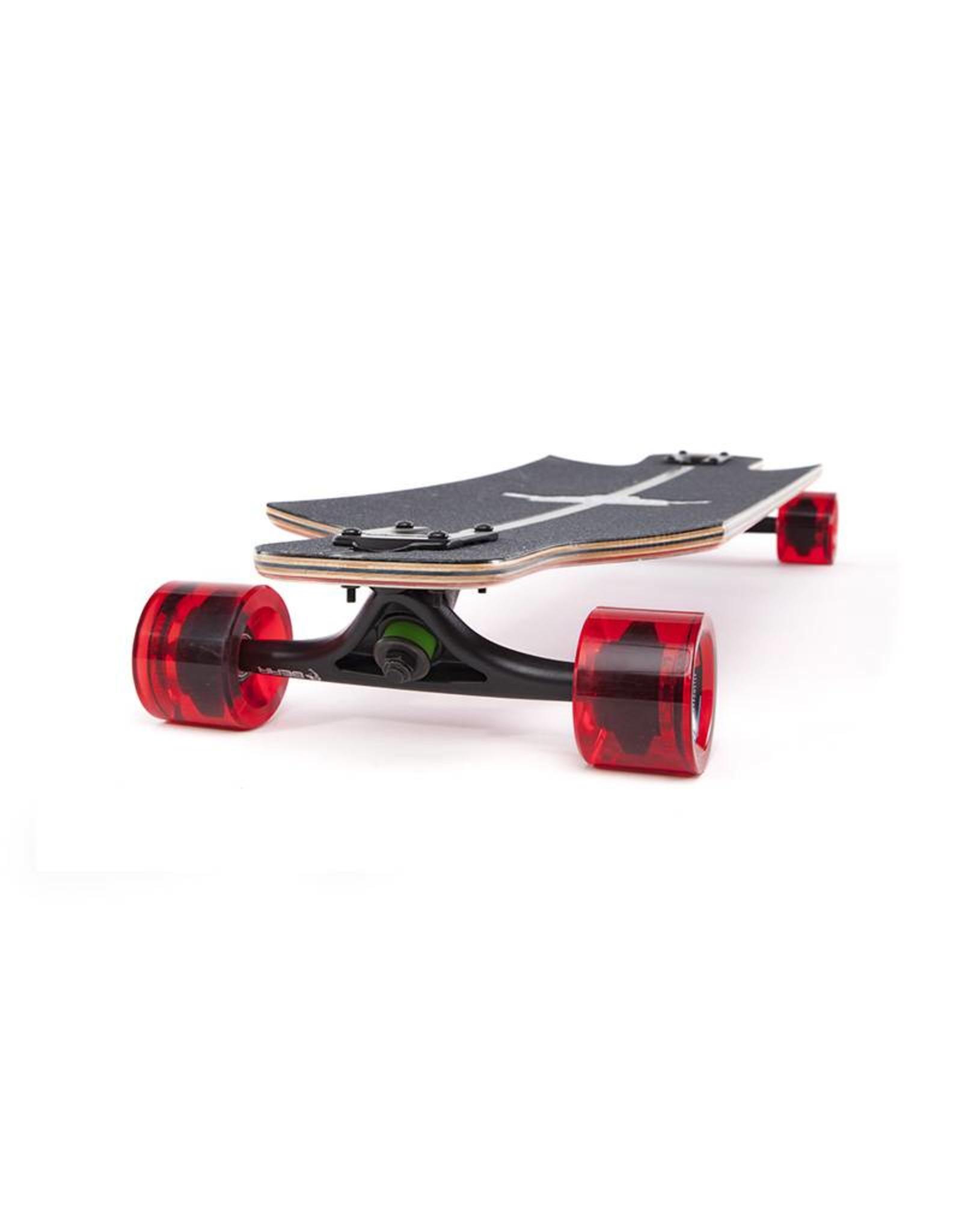 "Landyachtz Landyachtz Maple Drop Hammer 36.5"" Cardinal Complete"