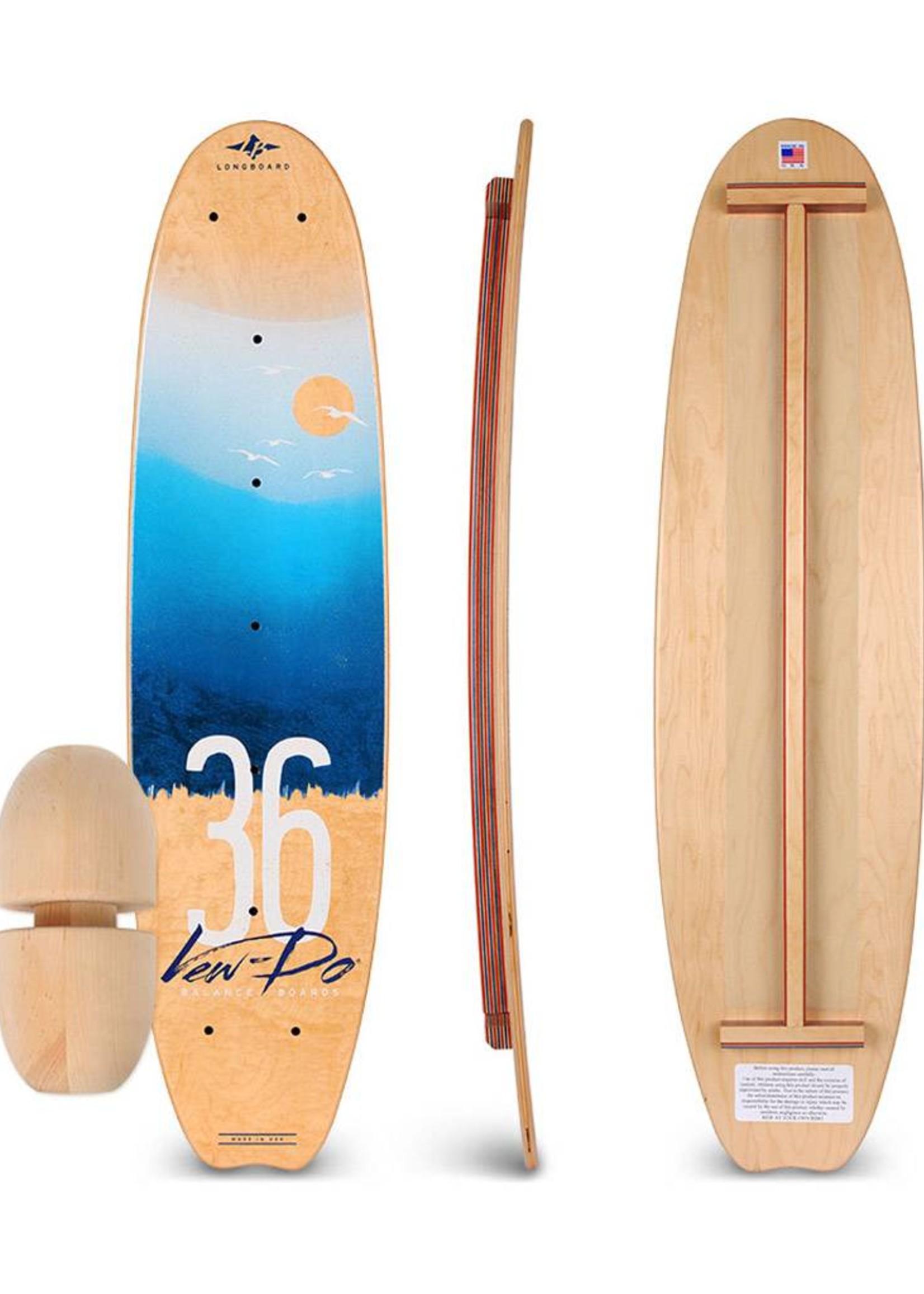 Vew-Do Vew-Do Longboard 36 Balance Board Cruiser
