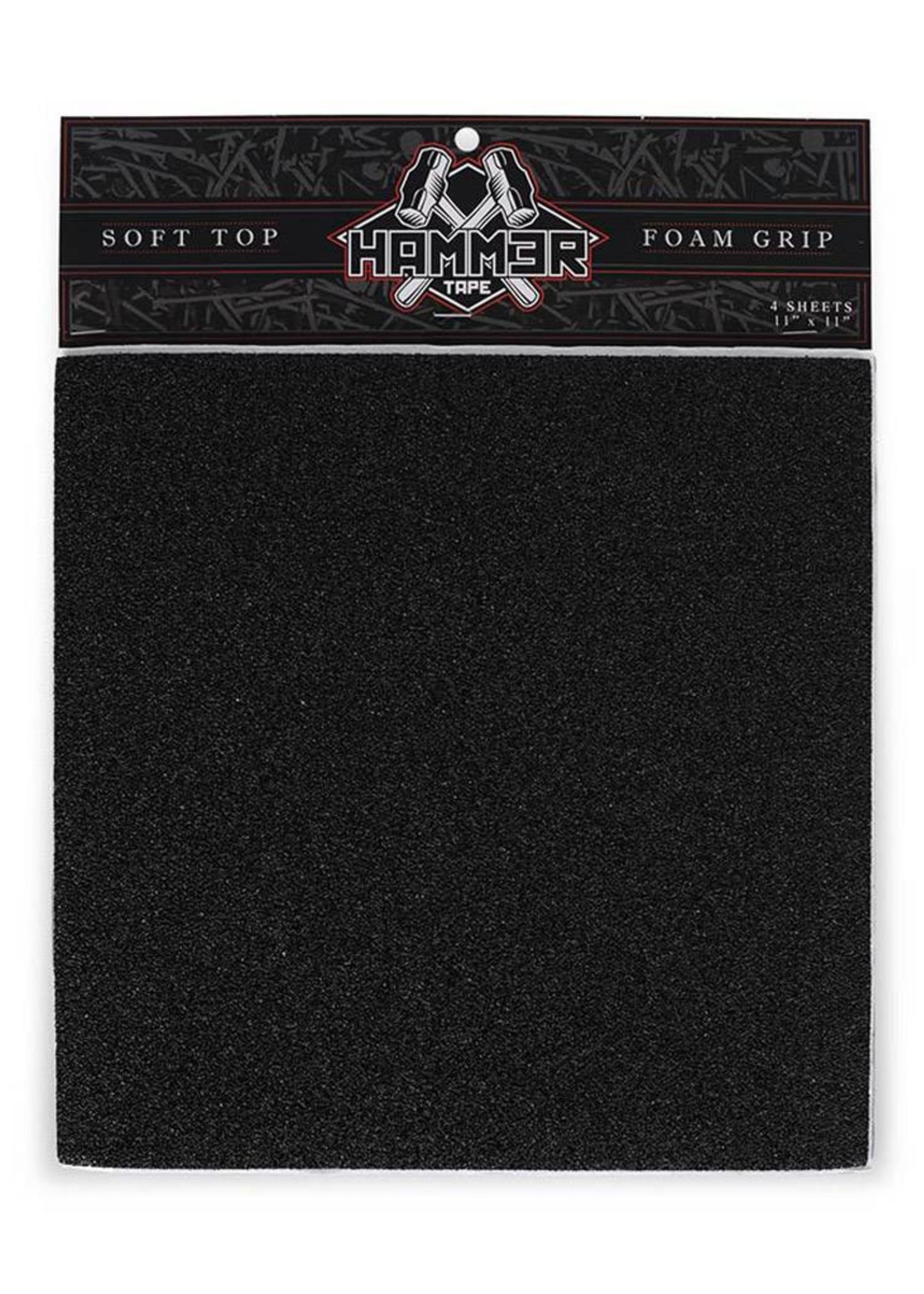 Hammer Tape Hammer Foam Grip 36er-Korn Black 4 Matten à 28 x 28 cm