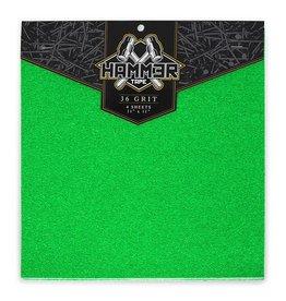 Hammer Tape Hammer Griptape 36er-Korn Green