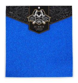 Hammer Tape Hammer Griptape 36er-Korn Blue
