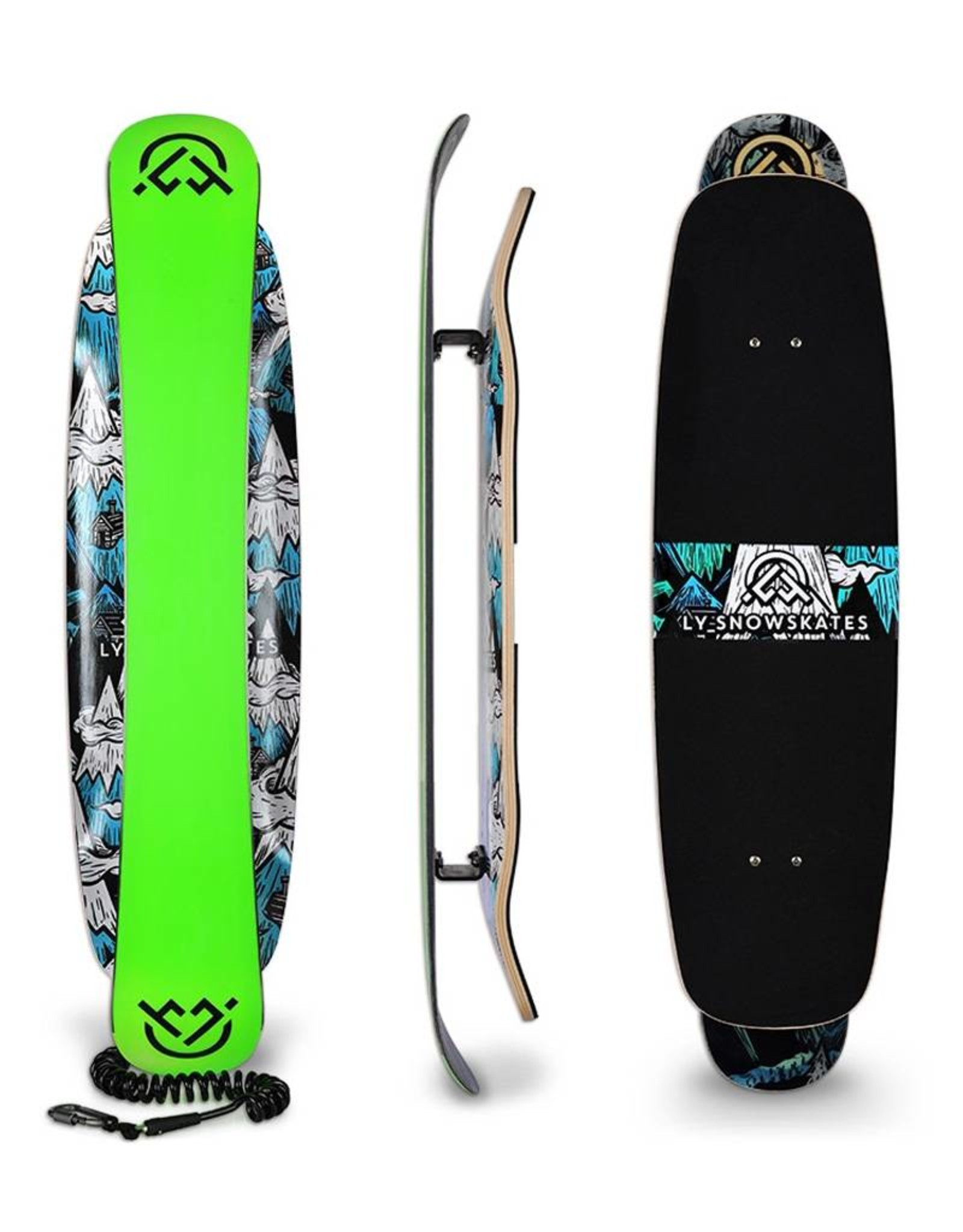 LY Snow LY Snow The Deluxe Doppeldecker Snowskate
