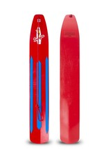 Snurfer Snurfer The Classic Rocket Snow Surfer Red