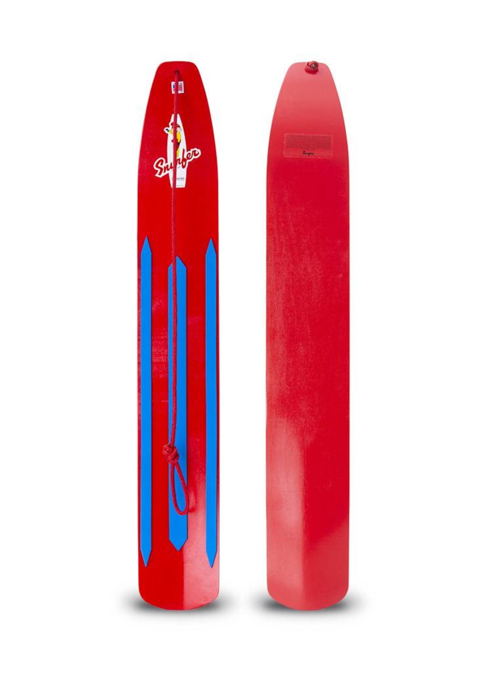 Snurfer Snurfer The Classic Rocket Snow Surfer Red
