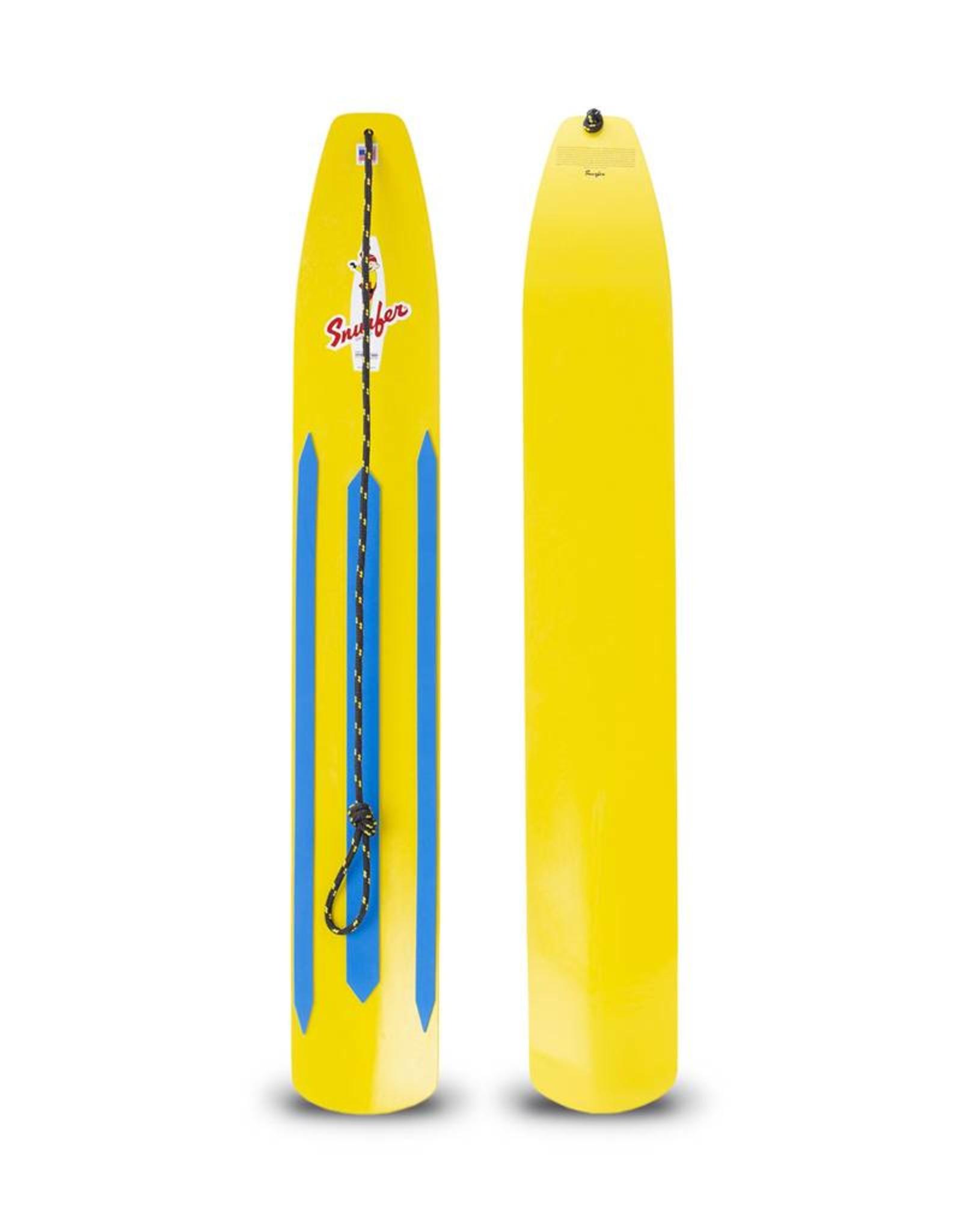 Snurfer Snurfer The Classic Rocket Snow Surfer Yellow