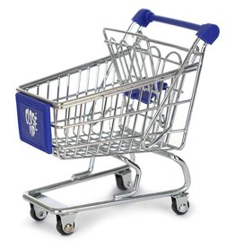 Close Up Fingerboards Shopping Cart Blue
