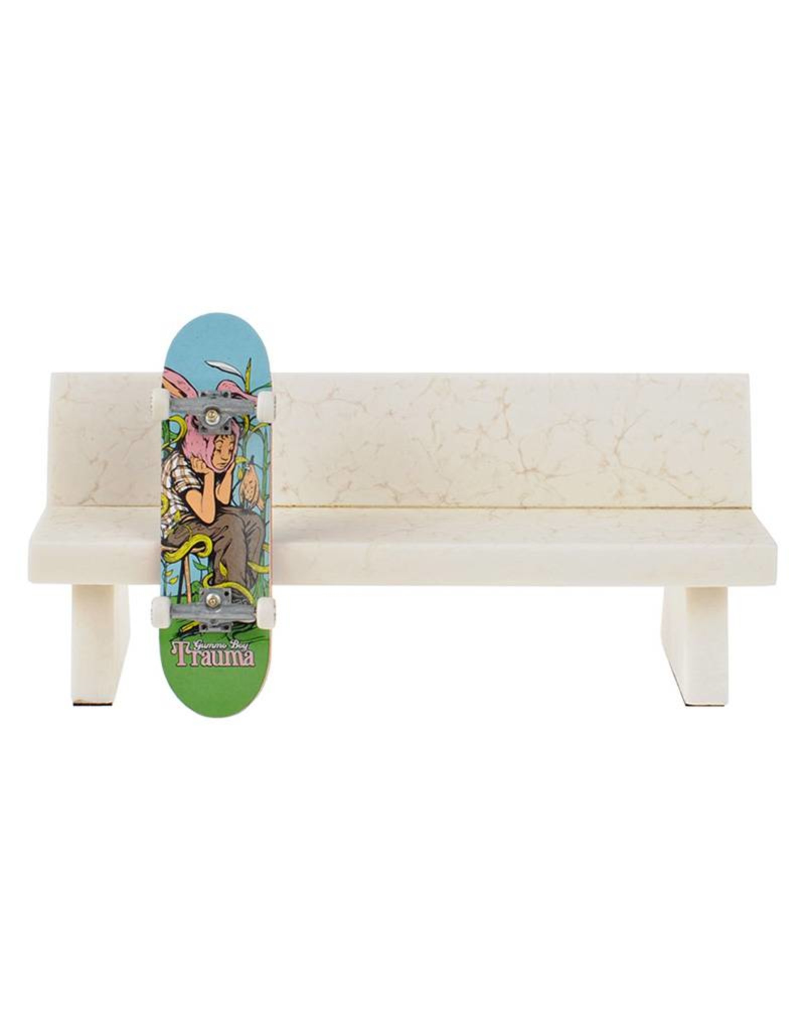 Close Up Fingerboards Close Up Fingerboard Marble Bench White