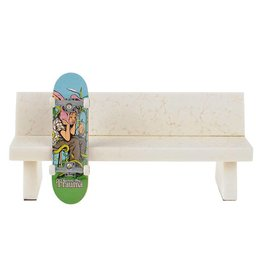 Close Up Fingerboards Close Up Marble Bench White