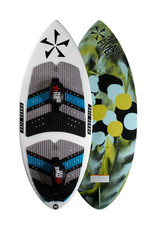 "Phase Five Phase Five Ratchet 54"" Skim Style Wakesurf with Foot Straps"