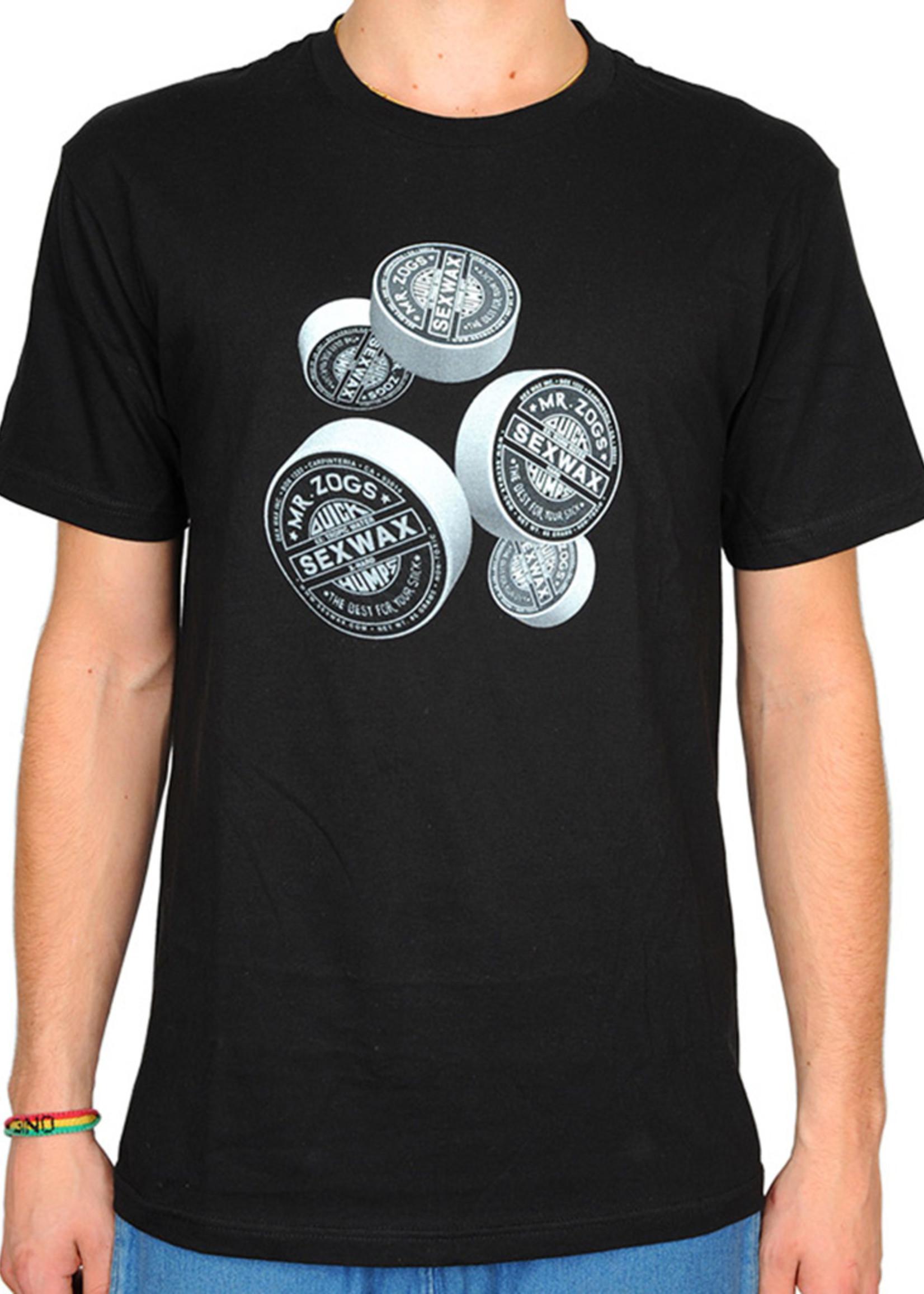 Sex Wax Sex Wax 3D-Bars Slim Fit T-Shirt Black