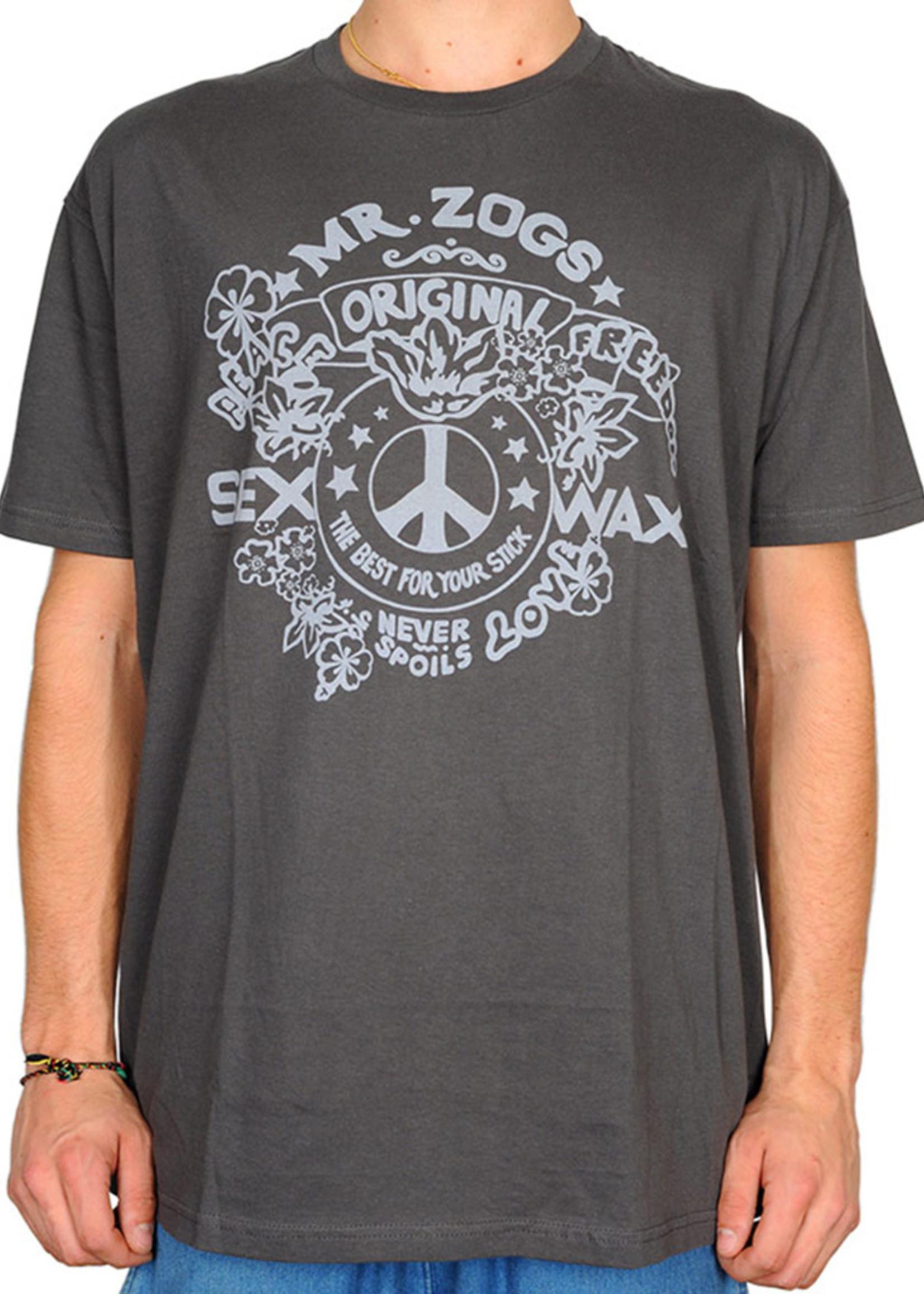 Sex Wax Sex Wax Freedom Slim Fit T-Shirt Charcoal