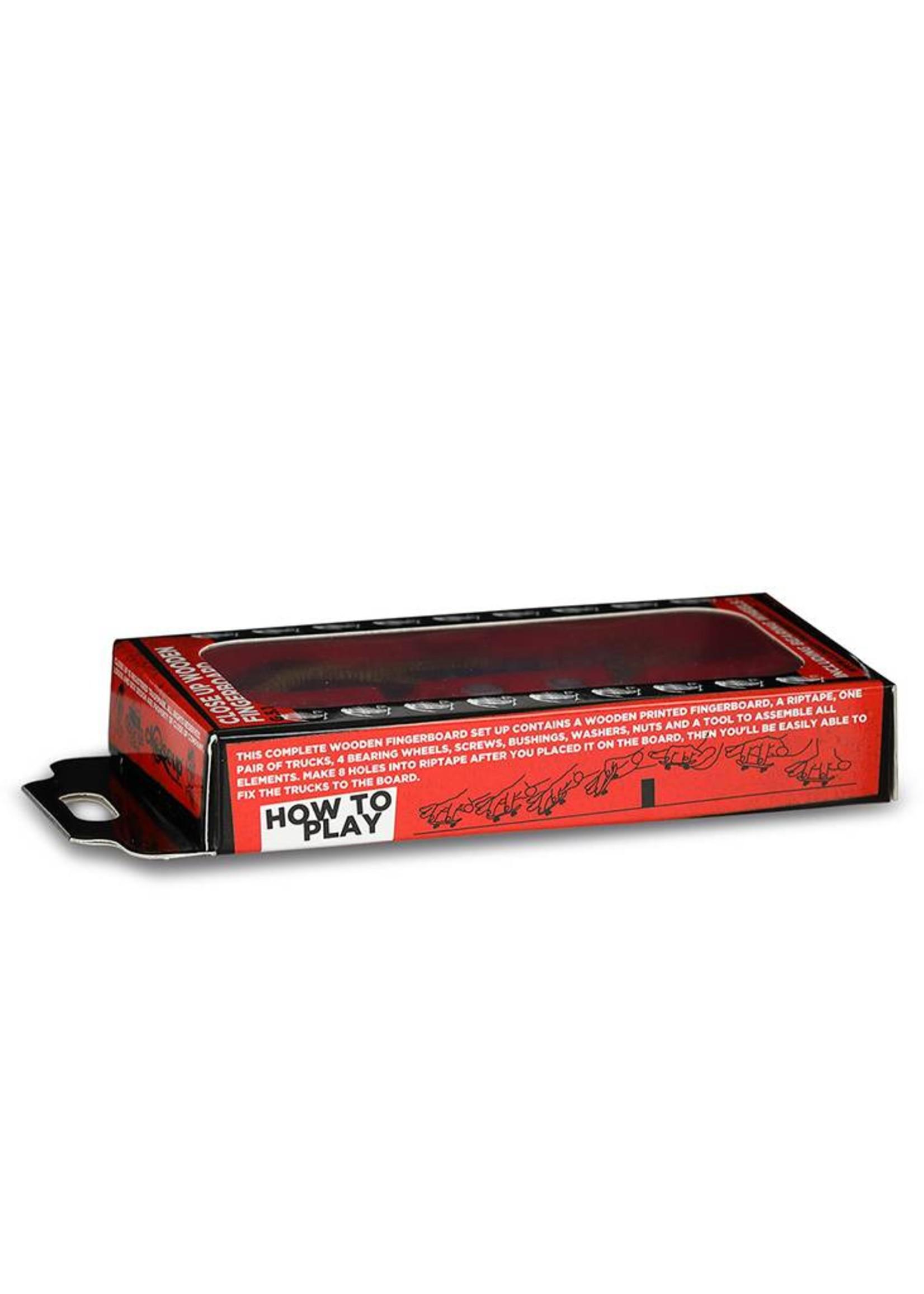 Close Up Fingerboards Close Up Bud Michael Jackson 34 mm Generation 5.1 Fingerboard Setup