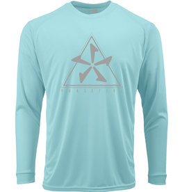 Phase Five Long Sleeve Tee Rash Tank Aqua