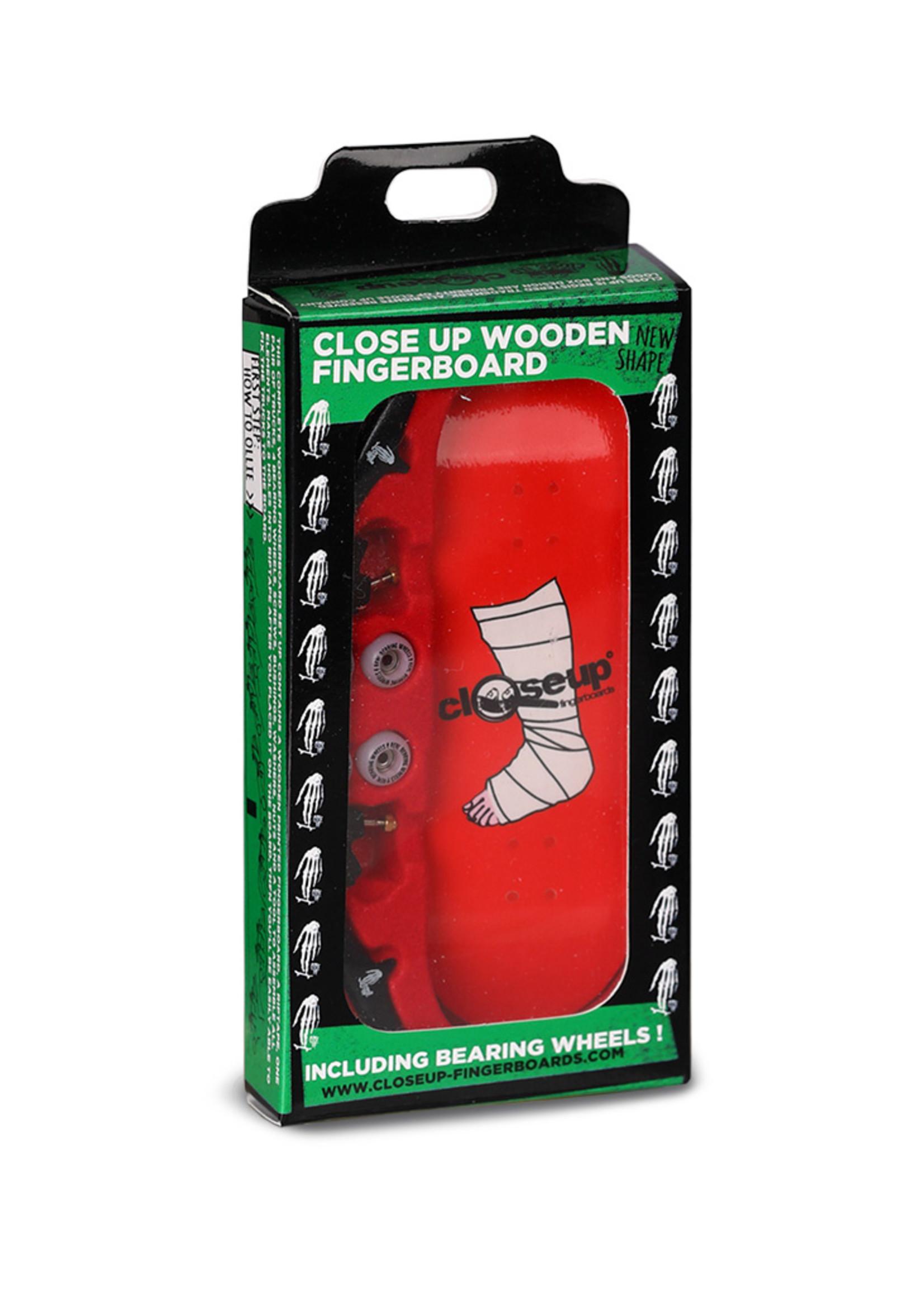 Close Up Fingerboards Close Up Broken Leg 34 mm Generation 5.1 Fingerboard Bausatz