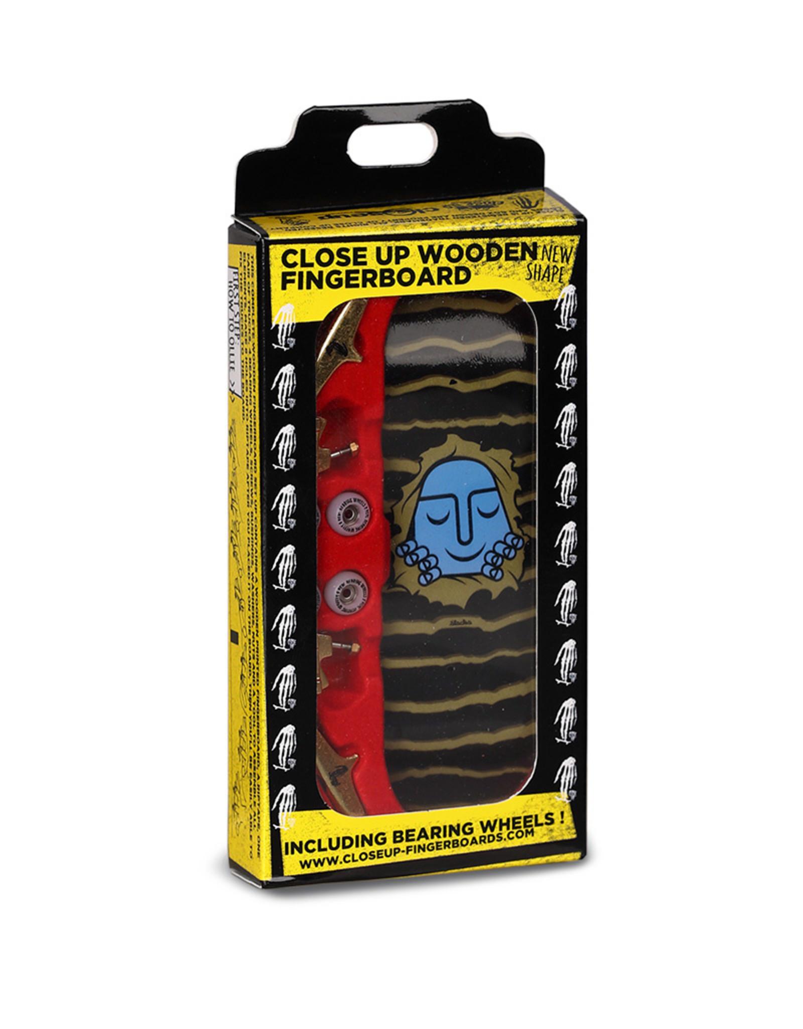 Close Up Fingerboards Close Up Stacks Gold Ripper 34 mm Generation 5.1 Fingerboard Bausatz