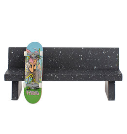 Close Up Fingerboards Marble Bench Black