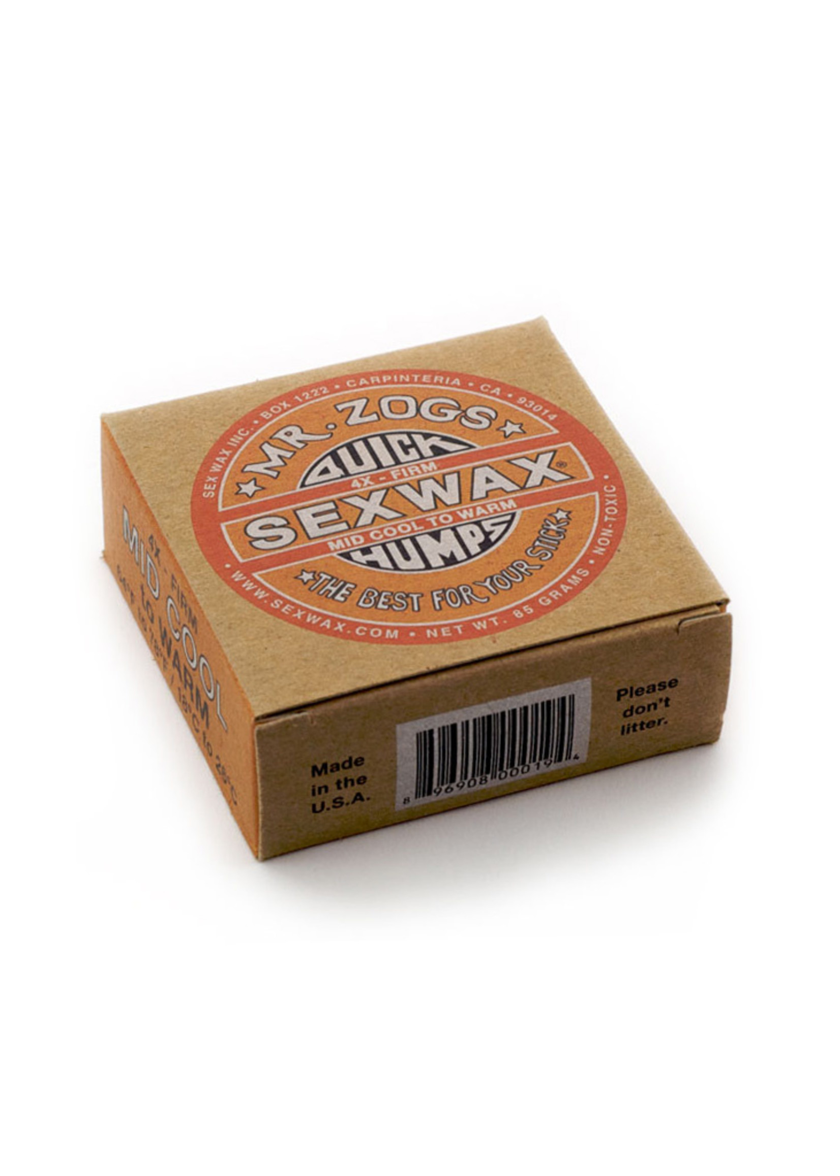 Sex Wax Sex Wax Quick Humps Surf Wax in Eco Box
