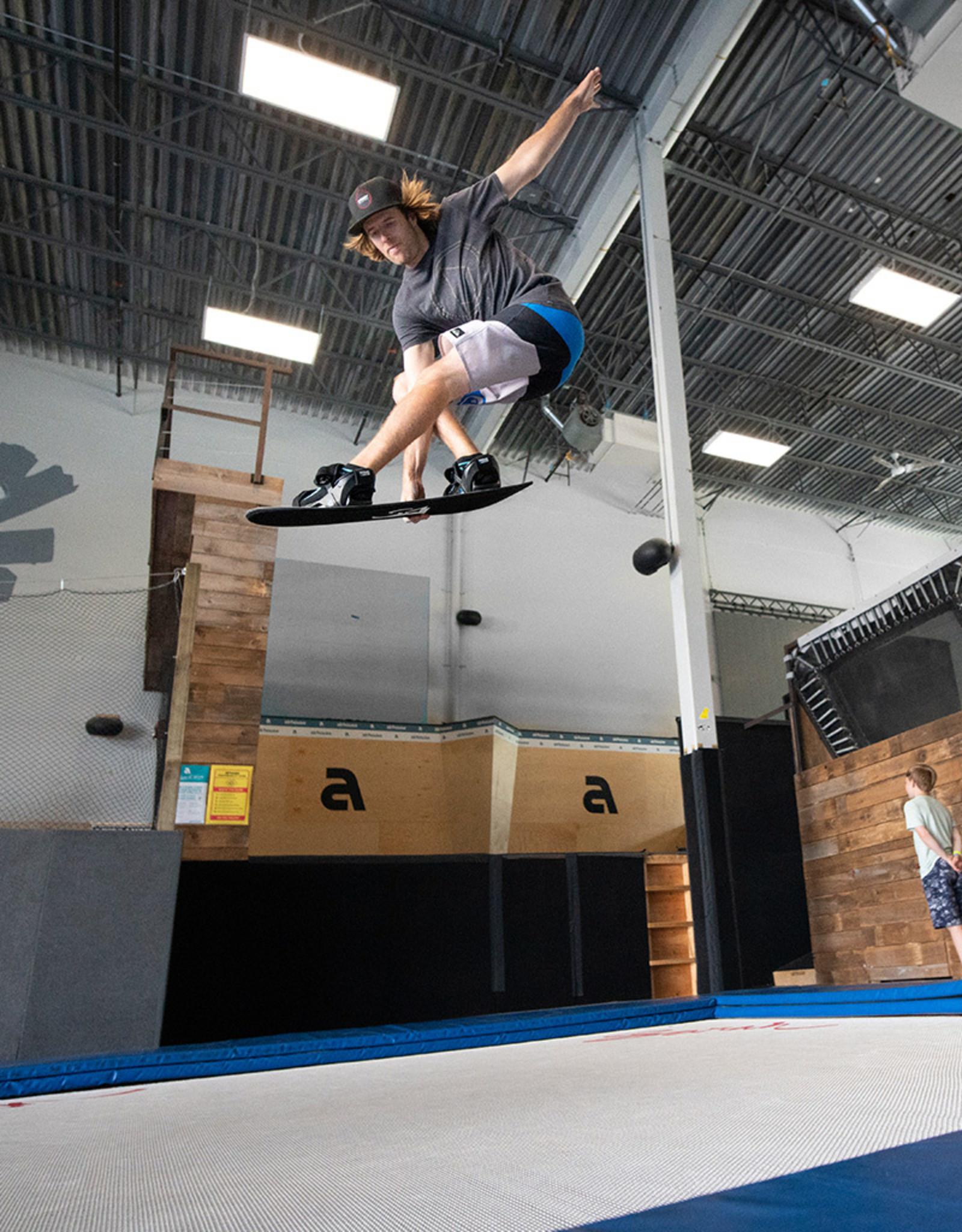 Snowboard Addiction Snowboard Addiction Jump Training Setup