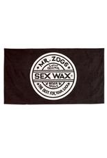 Sex Wax Sex Wax Strandtuch mit Jacquardmuster Schwarz