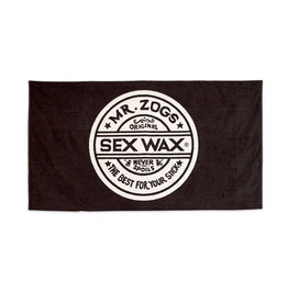 Sex Wax Sex Wax Beach Towel Black