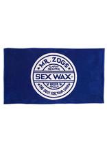 Sex Wax Sex Wax Jacquard Knit Beach Towel Blue