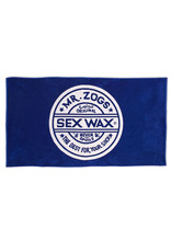 Sex Wax Sex Wax Strandtuch mit Jacquardmuster Blau