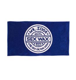 Sex Wax Beach Towel Blue